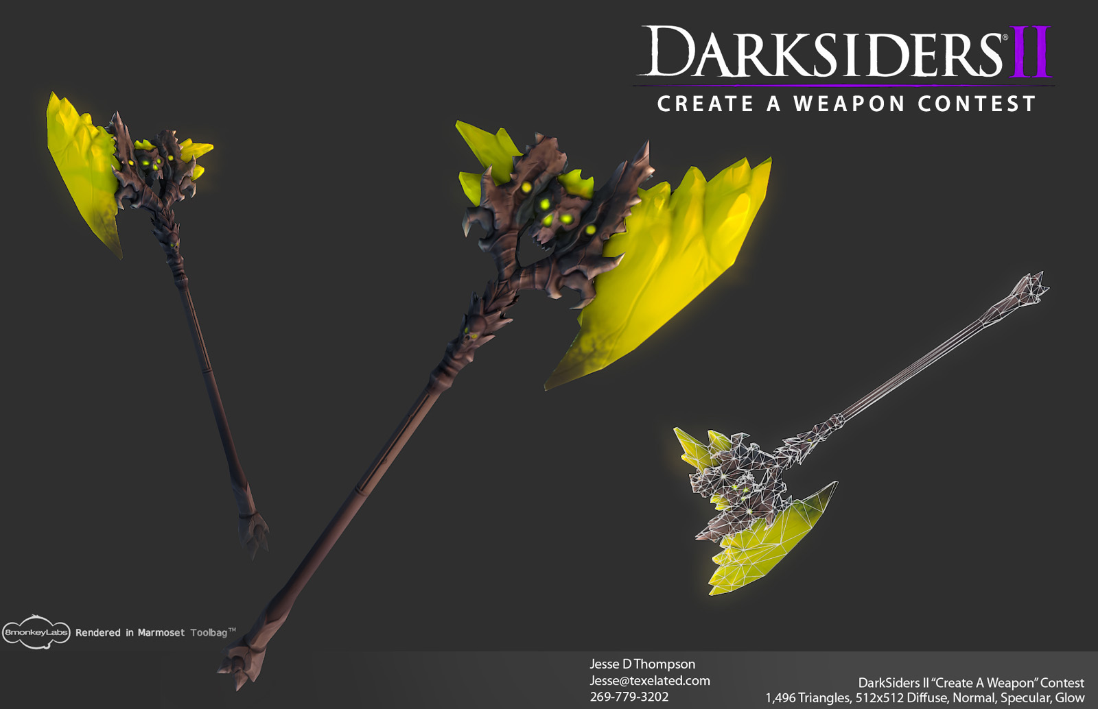 Darksiders2 Axe